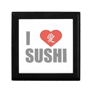 I Love Sushi Trinket Box