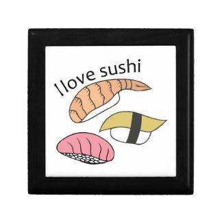 I Love Sushi Trinket Boxes