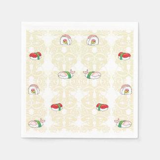 I love Sushi Napkin Disposable Serviette