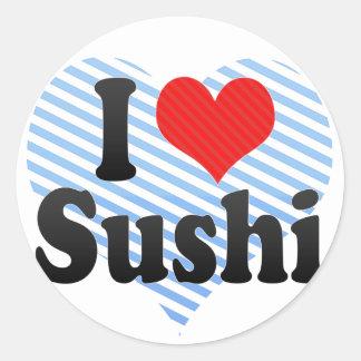 I Love Sushi Stickers