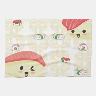 I love Sushi TeaTowels Tea Towel