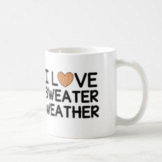 I Love Sweater Weather Coffee Mug