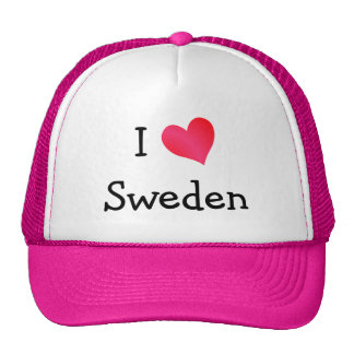 I Love Sweden Cap