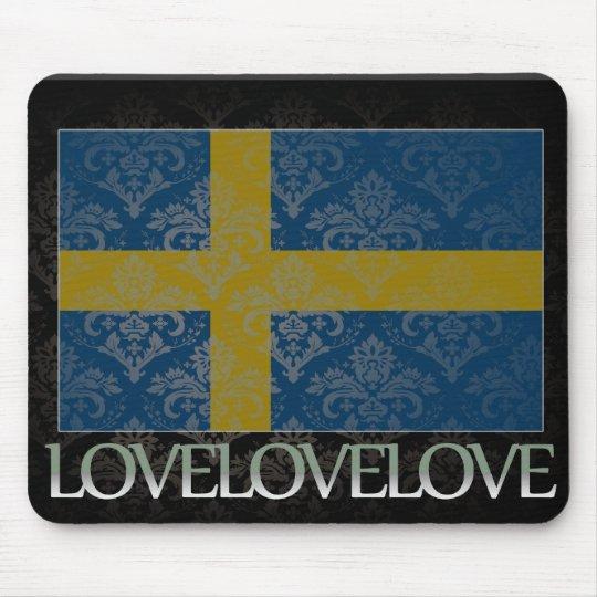 I love Sweden Cool Mouse Mat