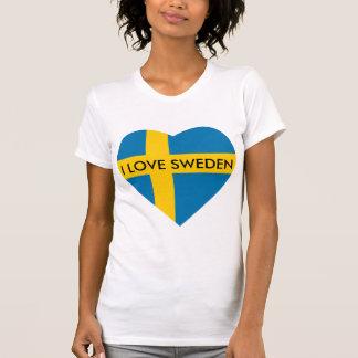 I LOVE SWEDEN HEART T-Shirt