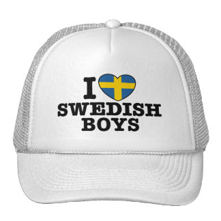 I Love Swedish Boys Cap