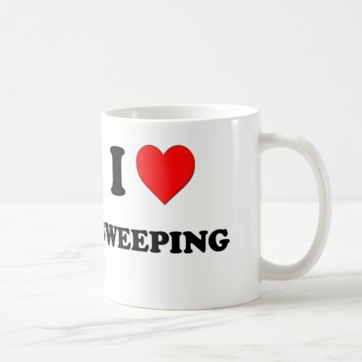 I love Sweeping Mugs