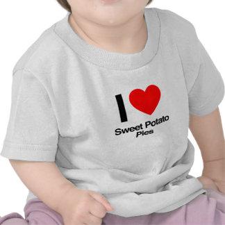 i love sweet potato pies tshirt