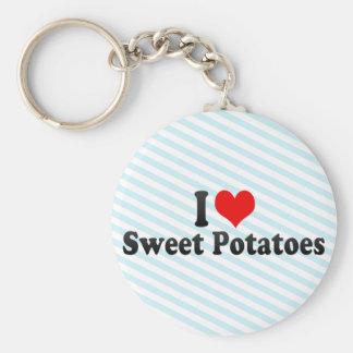 I Love Sweet Potatoes Keychains