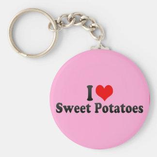 I Love Sweet Potatoes Key Chain