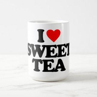 I LOVE SWEET TEA BASIC WHITE MUG