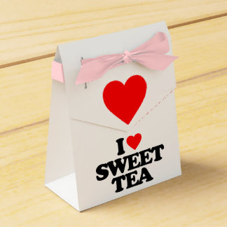 I LOVE SWEET TEA PARTY FAVOR BOXES