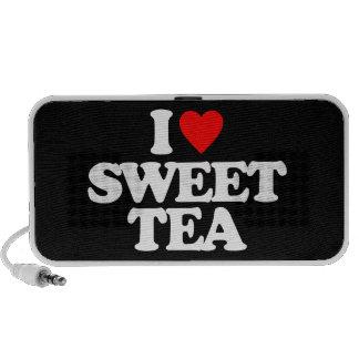 I LOVE SWEET TEA PORTABLE SPEAKERS