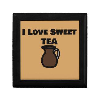 I Love Sweet Tea Tile Gift Box