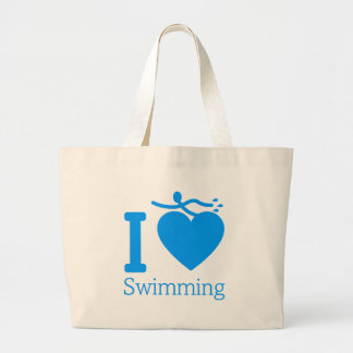 I Love Swimming Bag