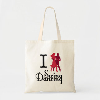 I Love Swing Dancing Tote Bag