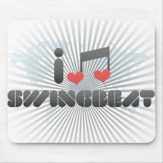 I Love Swingbeat Mousepads