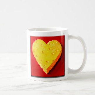 I Love Swiss Cheese Coffee Mug