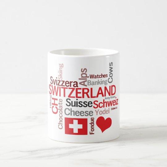 I Love Switzerland Favourite Swiss Things Coffee Mug