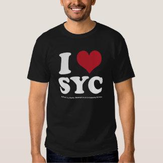 I LOVE SYC TEES