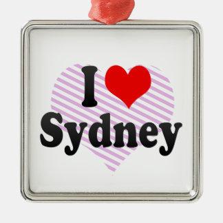 I love Sydney Christmas Ornament
