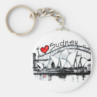I love Sydney Key Ring