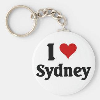I love Sydney Key Ring