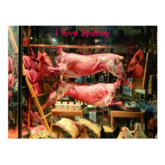 I Love Sydney Postcard