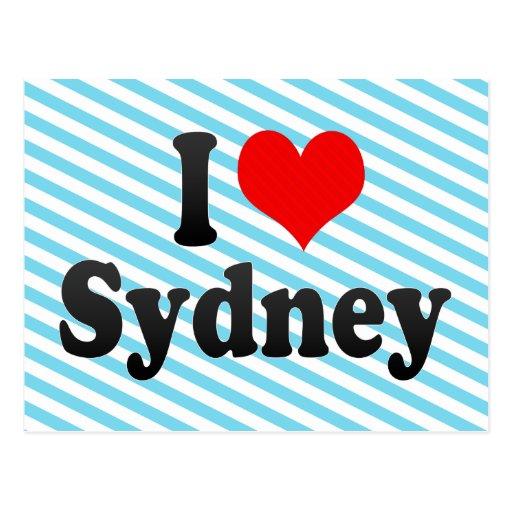 I love Sydney Post Card