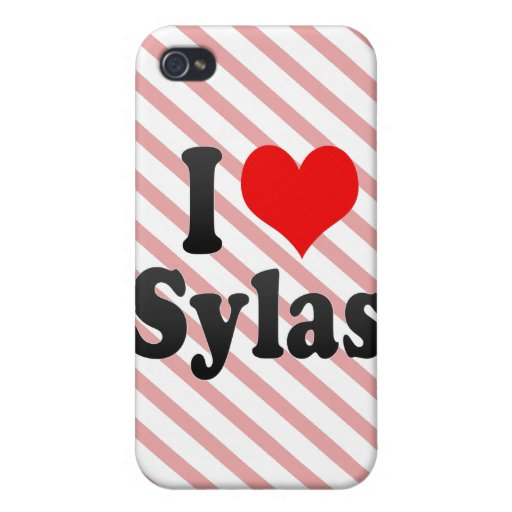 I love Sylas Case For iPhone 4