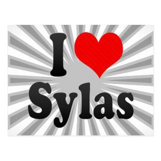 I love Sylas Postcard