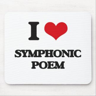 I Love SYMPHONIC POEM Mouse Pads