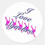I Love Synchro Stickers