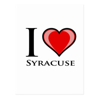 I Love Syracuse Postcard