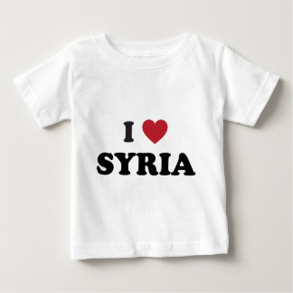 I Love Syria Baby T-Shirt