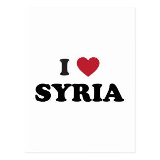 I Love Syria Postcard