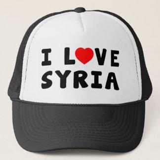 I Love Syria Trucker Hat