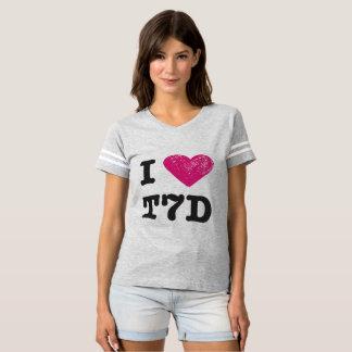I love T7D Football shirt