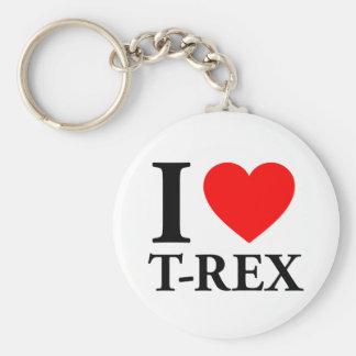 I Love T - Rex Key Ring