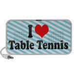 I love Table Tennis iPod Speakers