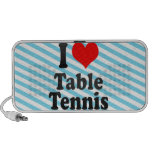 I love Table Tennis Notebook Speakers