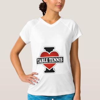 I Love Table Tennis Shirt