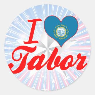 I Love Tabor, South Dakota Sticker