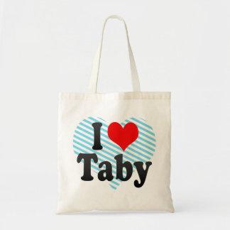 I Love Taby, Sweden. Jag Alskar Taby, Sweden Tote Bag