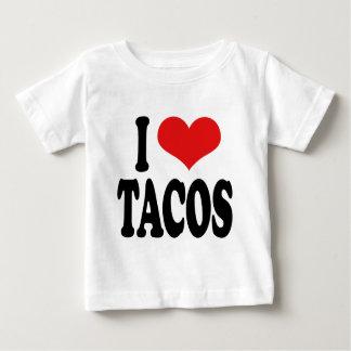 I Love Tacos Baby T-Shirt