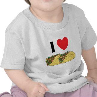 I Love Tacos Baby Tshirts