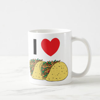 I Love Tacos Coffee Mug