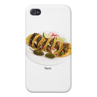 i love tacos iPhone 4 case