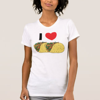 I Love Tacos Woman's T-Shirt