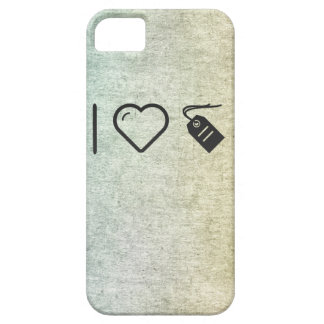 I Love Tags Barely There iPhone 5 Case
